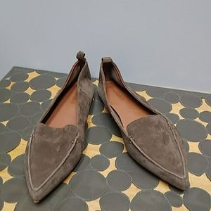 Jeffrey Campbell vionnet leather flats size 7.5